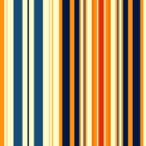 Autumn Stripes for Original Ikat Pattern 1 & 2