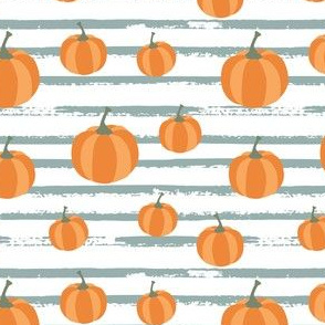 pumpkin pattern stripes-01