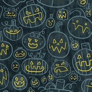 Spooky Scary Jack-O-Lanterns