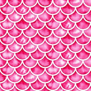 watercolor scales - pink