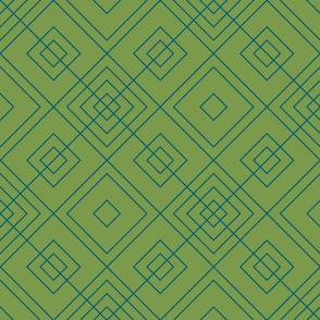 Geometric green & blue_014