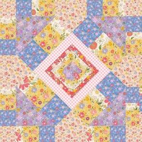 Farmhouse Kaleidoscope Quilt