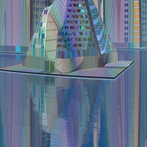 Tamara Alien Cityscape © Gingezel™ 2012