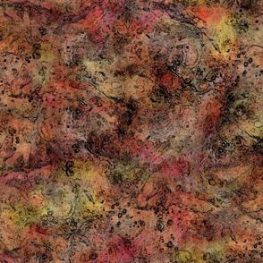 Multi-use Texture - Scrapes & Bumps - Orange, Burnt Sienna, Brown, Reddish