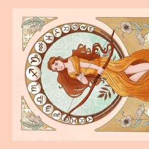 Art Nouveau - Sagittarius