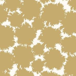 Snowburst in Gold
