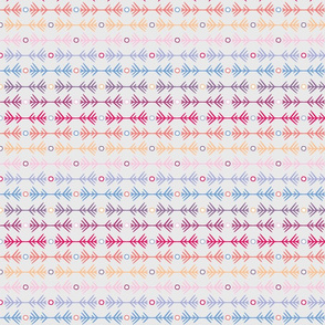 small - pattern study one in pastels sideways
