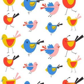 MidMod Birds