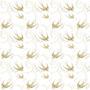 Golden swallows