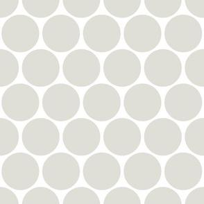 Polka Dots neutral grey