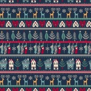 vintage nordic christmas small
