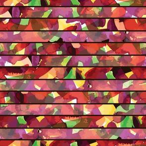 Fall Color Ink Splash by ArtfulFreddy