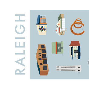 Raleigh, a love letter