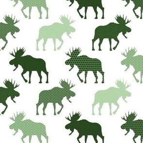 moose on the loose dark green