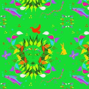 Green Woman Fantasy by Dulciart,LLC