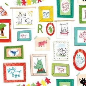 Rhinoceros frames