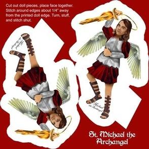 St Michael the Archangel Doll