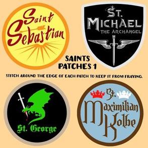 Saints Patches 1