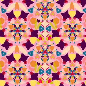 Kaleidoscope Pink