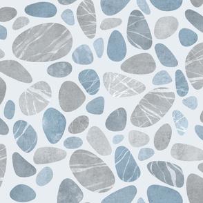 Pebbles - 01 - blue