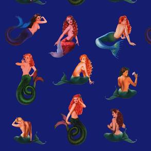 Mermaids on Deep Purple