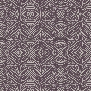 Tribal Bohemian deep purple