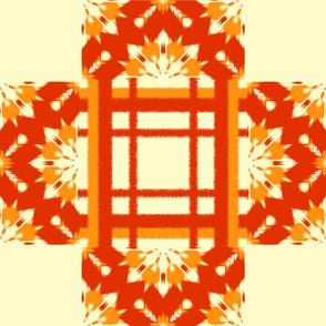 Autumn Original Ikat Pattern 5