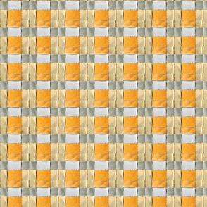 Woven Pumpkin Orange