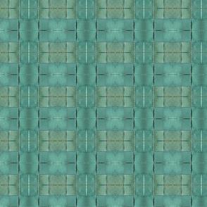 Woven Jade Green Paper