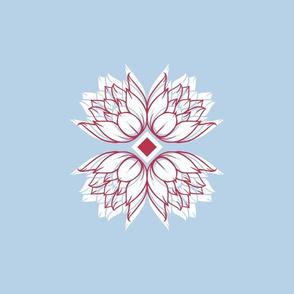 swan_waterlilies_retro_swatch