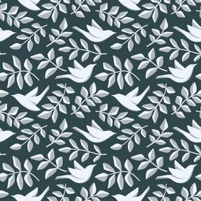 Geometric green&blue_025