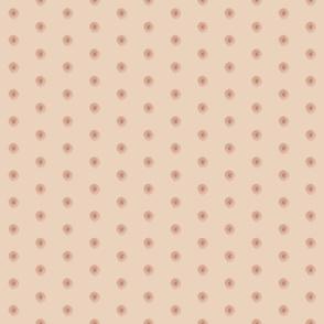 Real nipple polka dots - half size
