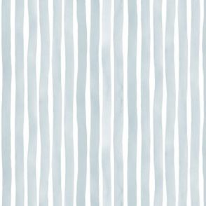 M+M Slate75 Vertical Watercolor Stripes by Friztin