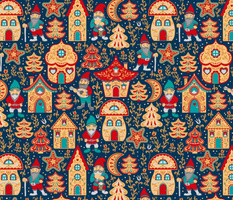 Gingerbread Houses and Gnomes