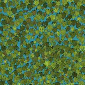 Kawakawa on turquoise