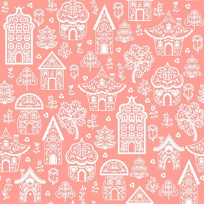 Fabulous  Houses on a Pink