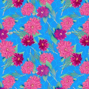 Vintage Floral Chintz Opens