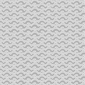 White gray abstract subtle pattern