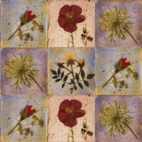 Rose Garden Flower Tile Decals