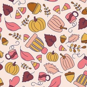 Decorative Gourd Season (pink)
