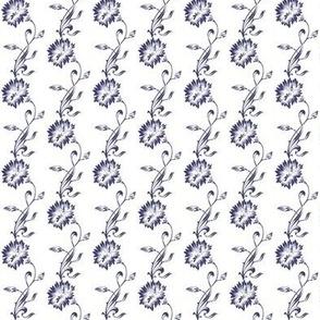 Hamptons Cornflower, navy blue