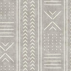 stone mud cloth - arrow cross dot - mudcloth home decor tribal - LAD19