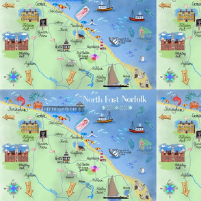 North East Norfolk map