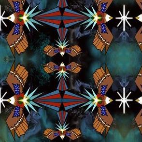 Kaleidoscope Freedom Eagle