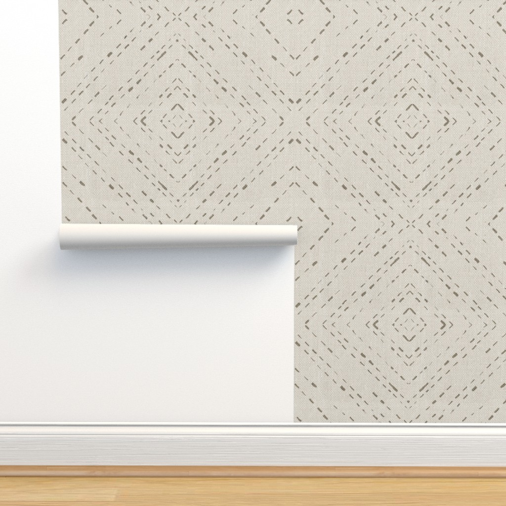 Isobar Durable Wallpaper featuring stag head by katarina