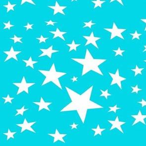 Circusy Fun Blue Stars