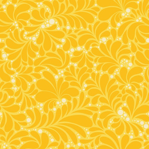 Yellow Sunny Teardrops