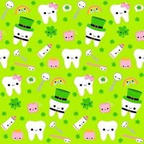 St. Patrick's Day Teeth - Light Green