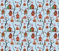 Gingerbread Bird Houses