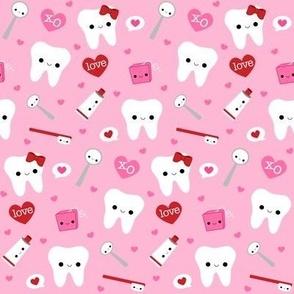 Happy Valentine's Day Teeth - Pink